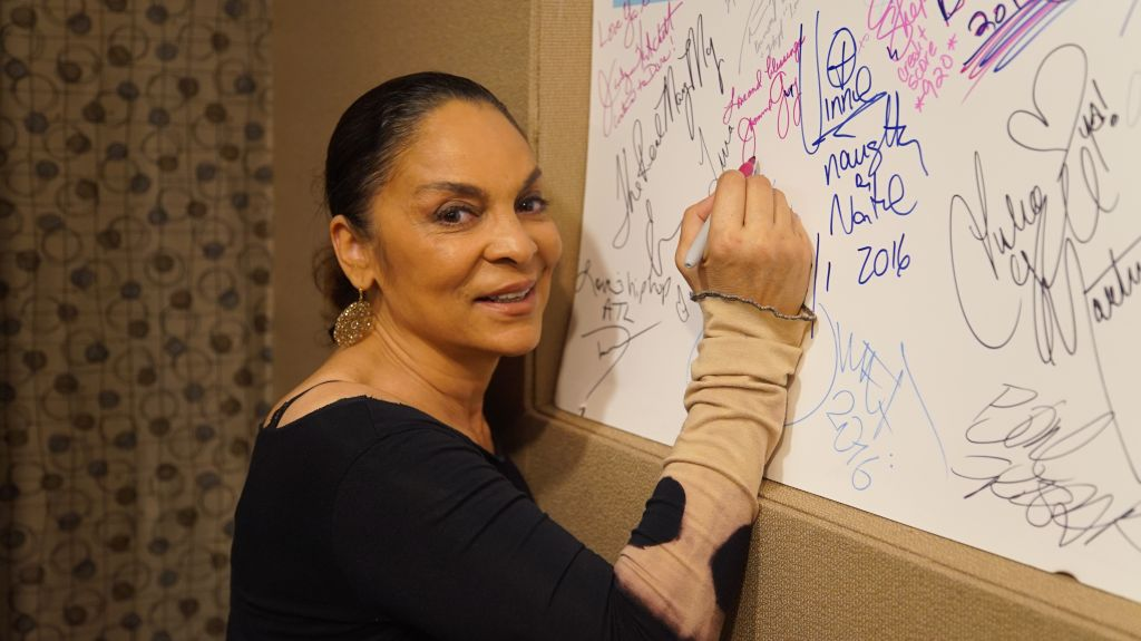 Jasmine Guy In Studio Guest