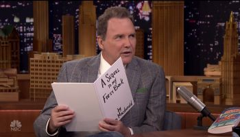 Norm Macdonald during an appearance on NBC's 'The Tonight Show Starring Jimmy Fallon.'