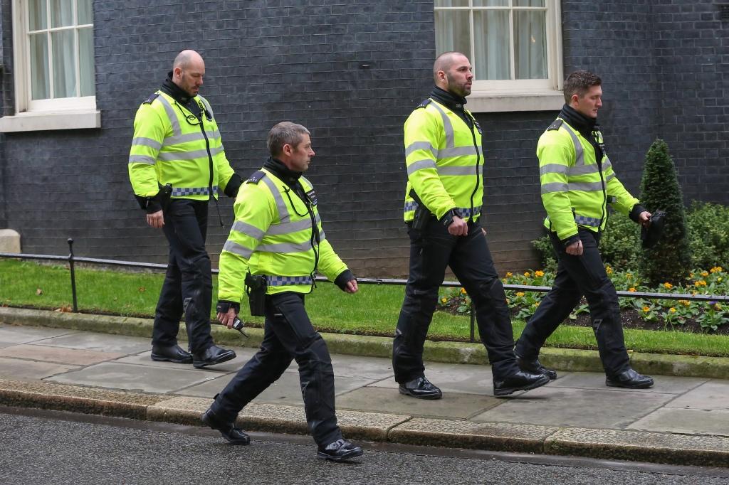 Police bike riders
