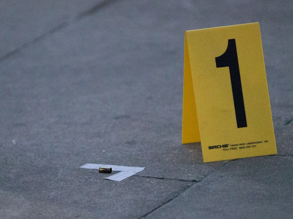 Crime scene of double shooting in Rayners Lane