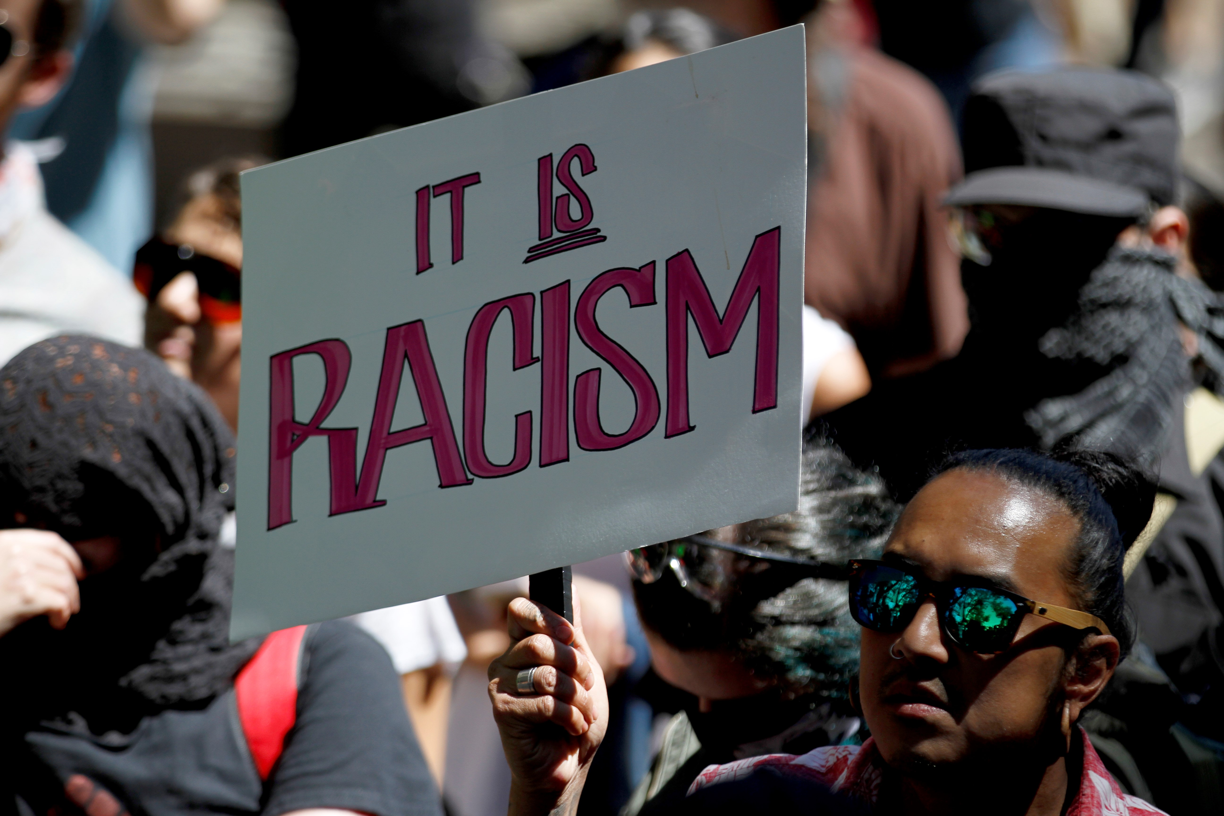 Protest against racism in San Francisco