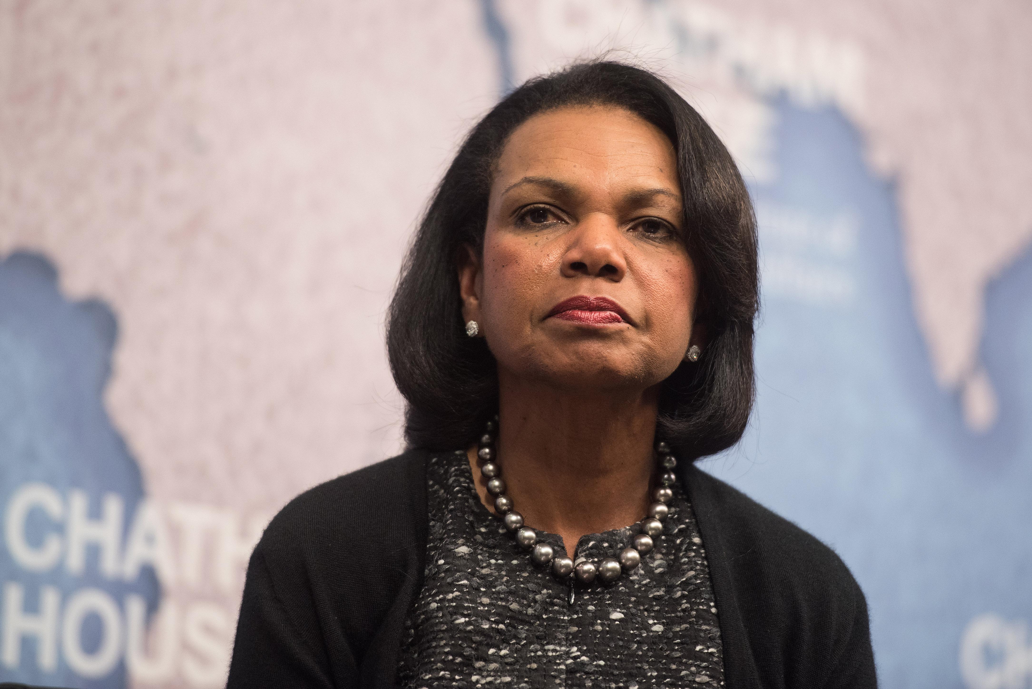 Dr Condoleezza Rice at Chatham House