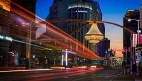 Crystal Chandelierat PlayHouse Square
