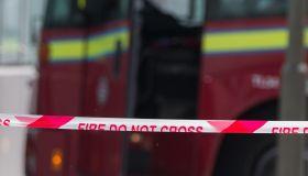 Scene of fire at 6th floor flat off Queenstown Road Battersea.