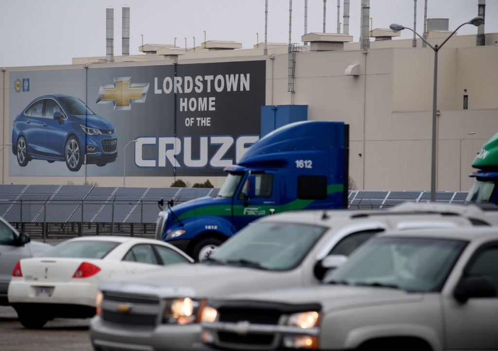 GM To Idle Five North American Auto Plants, Cutting Thousands Of Jobs