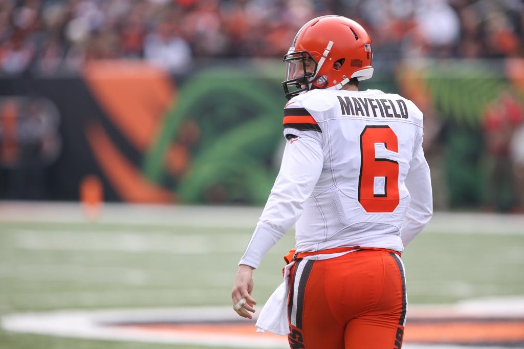NFL: NOV 25 Browns at Bengals