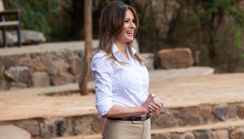 First Lady Melania Trump visits Kenya