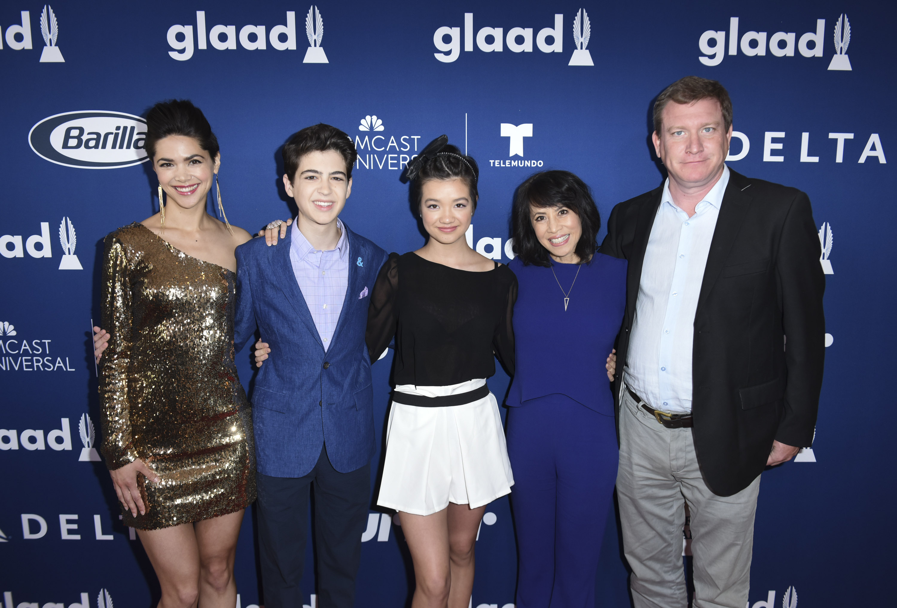 Rising Stars at the GLAAD Media Awards Los Angeles