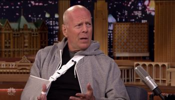 Bruce Willis during an appearance on NBC's 'The Tonight Show Starring Jimmy Fallon.'