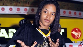 Aaliyah Instore at Virgin Megastore in London - May 1, 1995