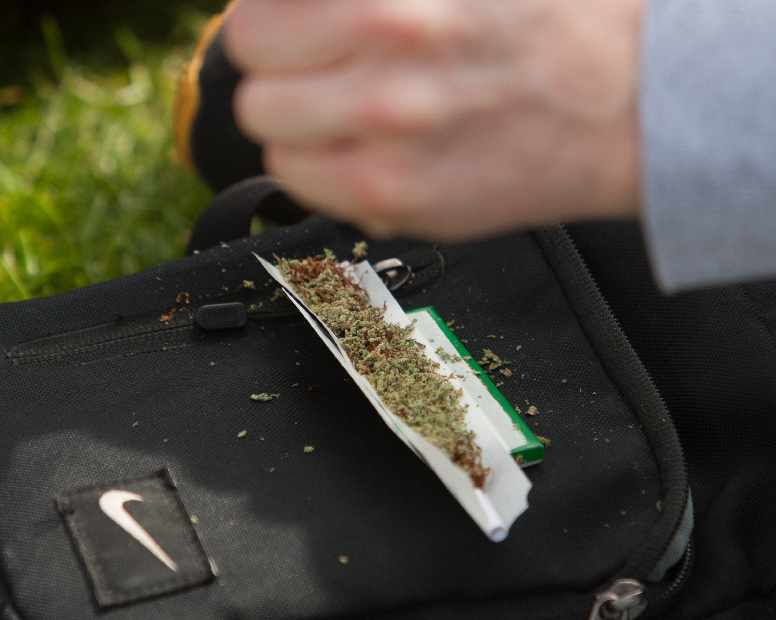The annual London 420 Pro Cannabis Rally, Hyde Park, London, UK.