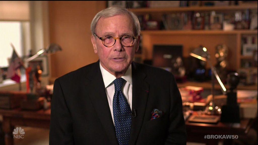 Tom Brokaw celebrates 50 years at NBC as seen on 'Dateline's' NBC.