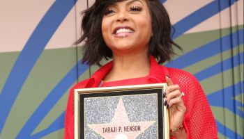 Taraji P. Henson WOF Star Ceremony