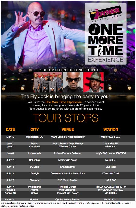 TJMS One More Time Tour