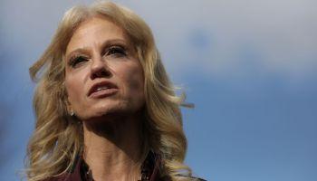 Kellyanne Conway Briefs Press Ahead Of President Trump's Speech To Nation