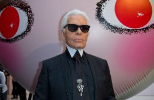 (EDITORS NOTE: File photo.) Karl Lagerfeld attends at the...