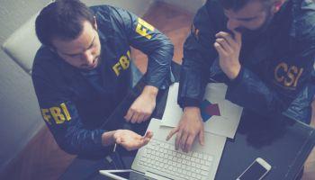 FBI and CSI agents