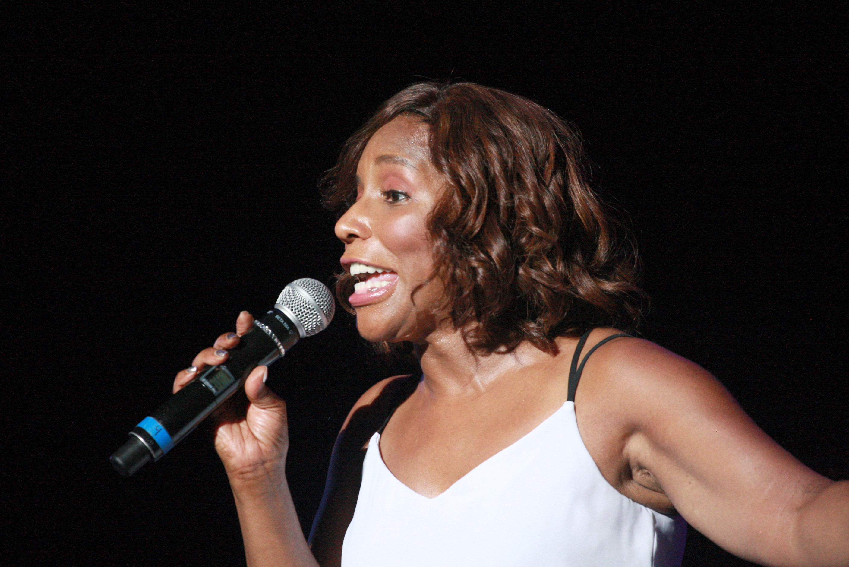 Stephanie Mills performs live in concert