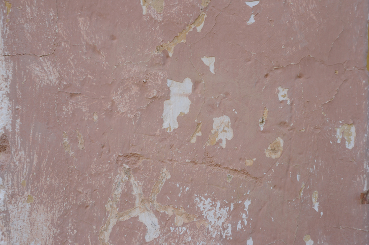 Pink Painted Wall Texture