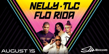 Nelly/TLC/Flo Rida concert coming to Blossom