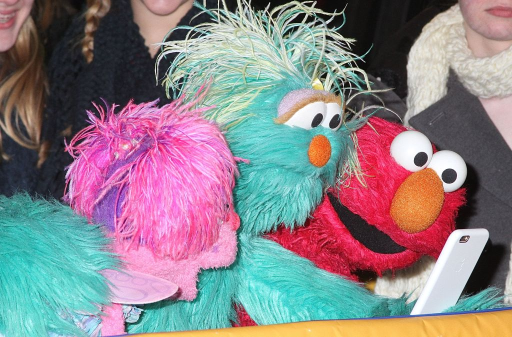 Sesame Street at 'Good Morning America'