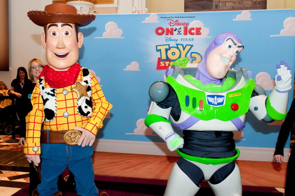 Disney Stars On Ice Hold A Children's News Conference