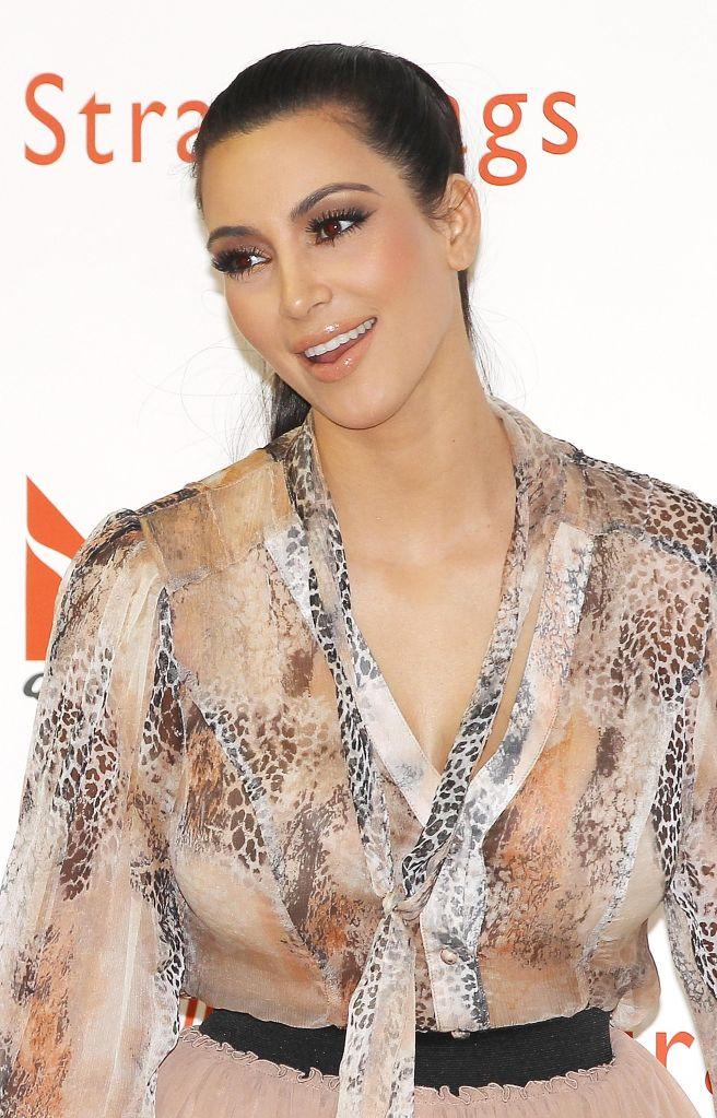 Kim Kardashian Launches Handbags In Sydney