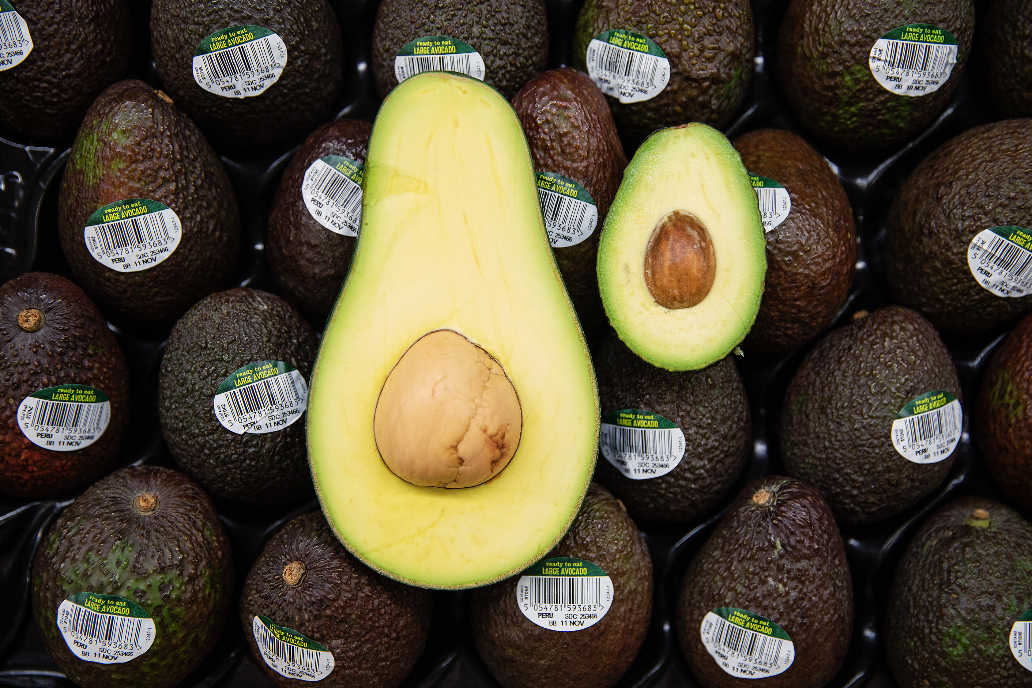 ASDA Giant Avocados - London 9th Nov 2018