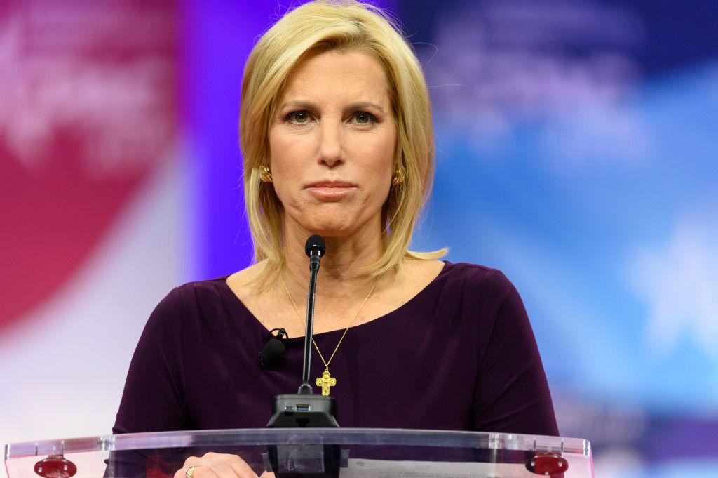 Laura Ingraham, host of The Ingraham Angle on Fox News...
