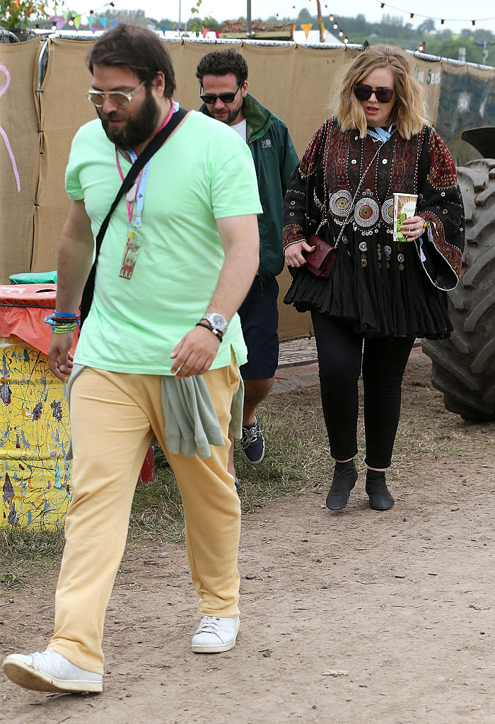 Glastonbury Festival 2015 - Celebrity Sightings