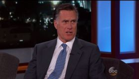 Mitt Romney during an appearance on ABC's 'Jimmy Kimmel Live!'