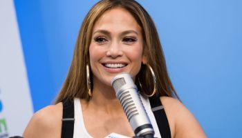 Jennifer Lopez Visits 'The Elvis Duran Z100 Morning Show'