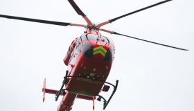 Air Ambulance lands in Chestnut Park
