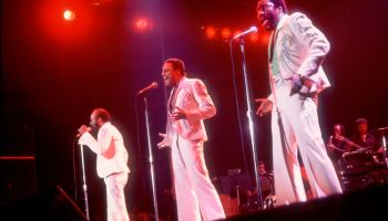 The O'Jays Performing On Stage