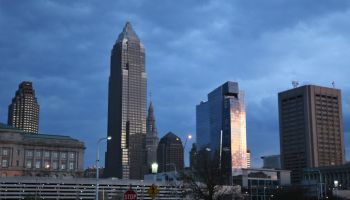 Cleveland downtown skyline