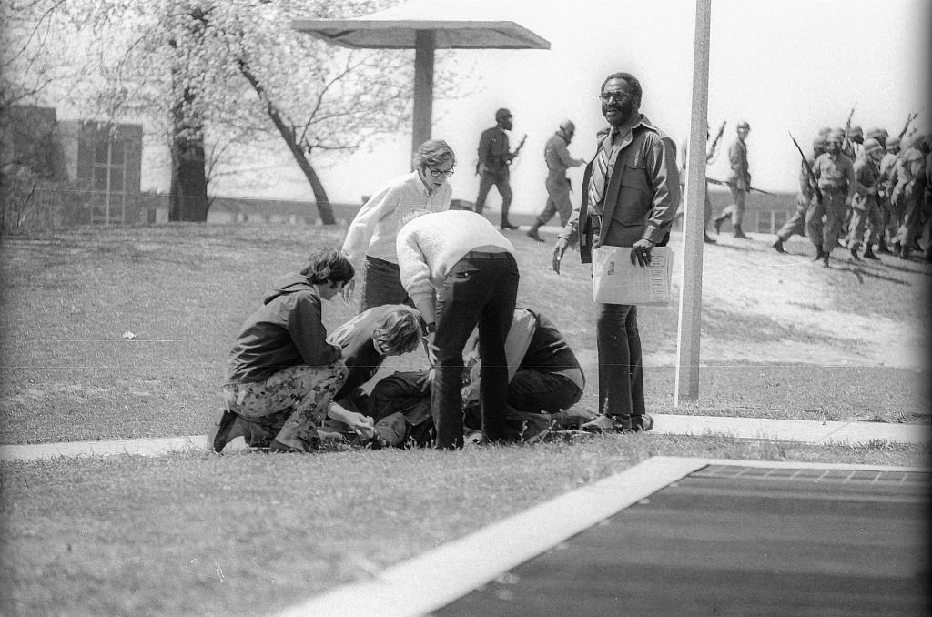 Wounded Student At Kent State