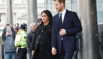 Prince Harry and Meghan Markle visit Newzealand House