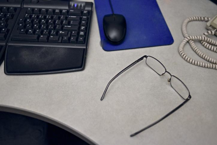 government office desktop