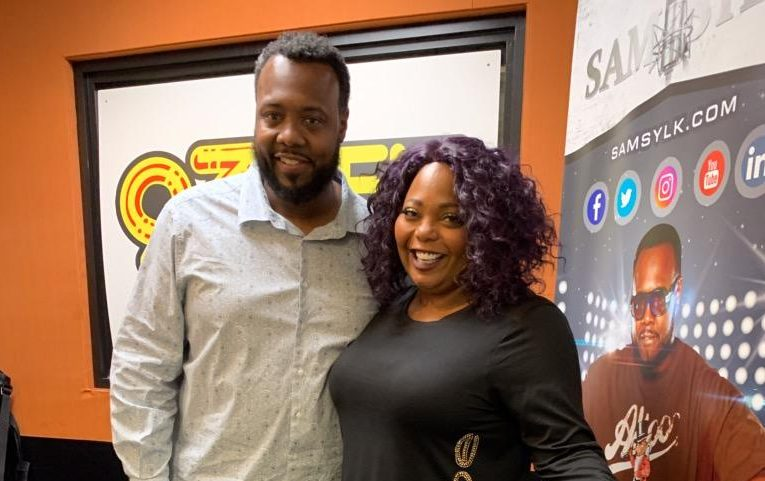 Sam Sylk and Comedian Cocoa Brown