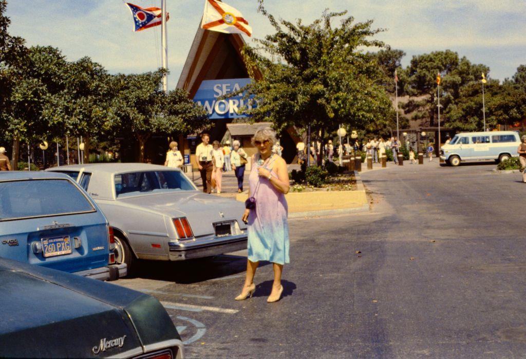 Sea World San Diego Entrance