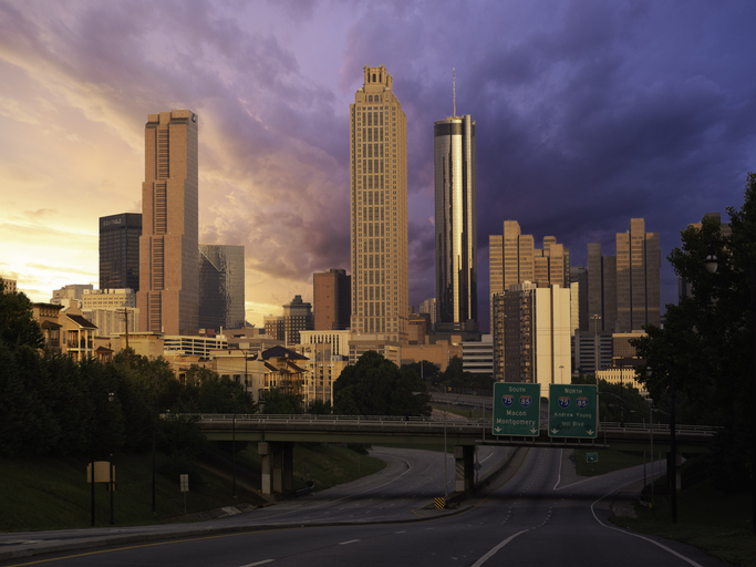 Entering Atlanta