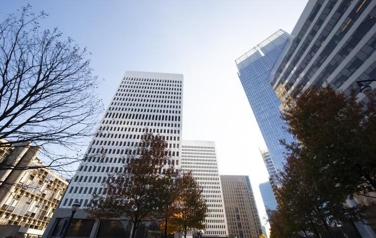 Mid-Town District, Atlanta, Georgia,USA