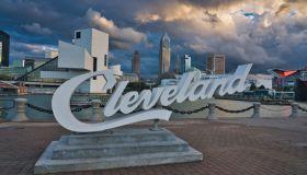 Cleveland & Sunset