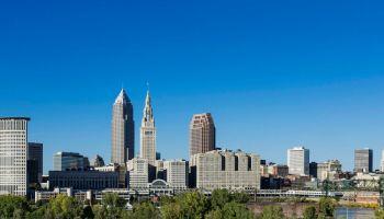 Cleveland City skyline...