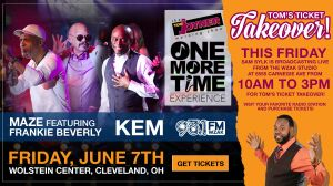 Tom's Ticket Takeover - WZAK Cleveland