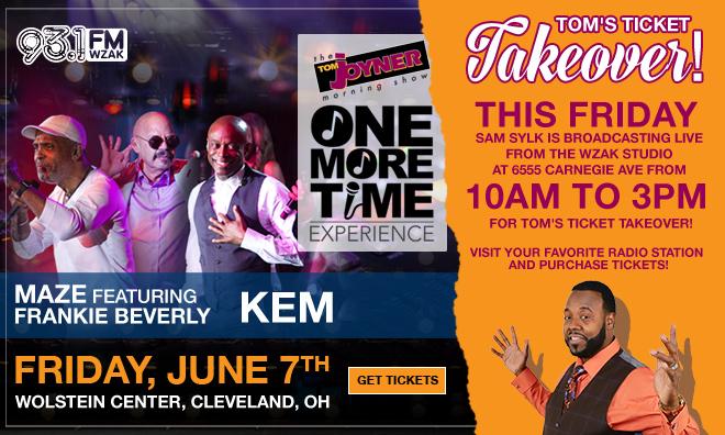 Tom's Ticket Takeover - WZAK Cleveland
