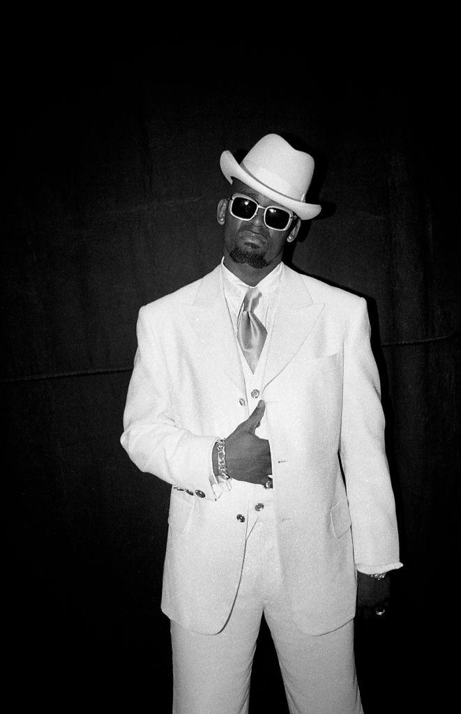 R. Kelly Video Shoot In Los Angeles