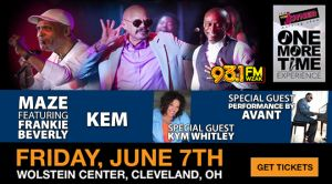 Tom Joyner One More Time Tour Cleveland