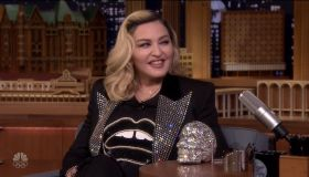 Madonna during an appearance on NBC's 'The Tonight Show Starring Jimmy Fallon.'