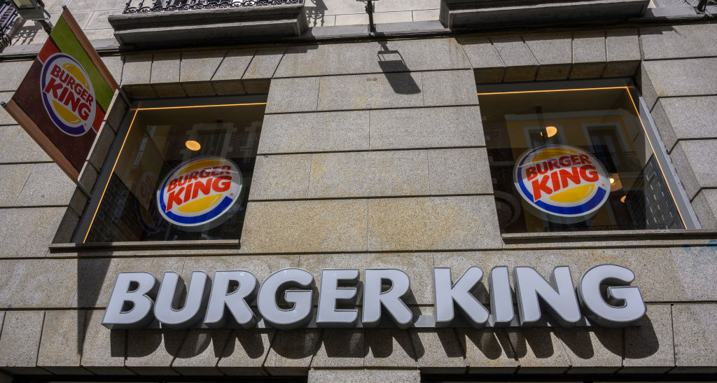 Burger King in Madrid
